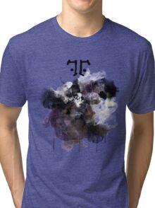 Watchmen- Rorschach Watercolor Portrait Tri-blend T-Shirt