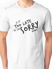 Sorry - Justin Bieber Unisex T-Shirt