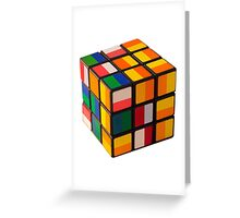 Cube toy Greeting Card