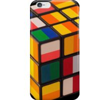 Cube toy iPhone Case/Skin