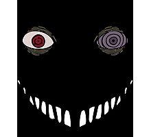 Black Zetsu with Obito's Eyes Photographic Print