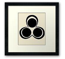 Yukimi's Cursed Seal Framed Print