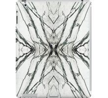 White marble butterfly phone case iPad Case/Skin