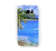 Caribbean Beach Samsung Galaxy Case/Skin