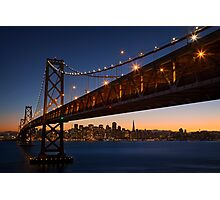 The unforgettable skyline Photographic Print