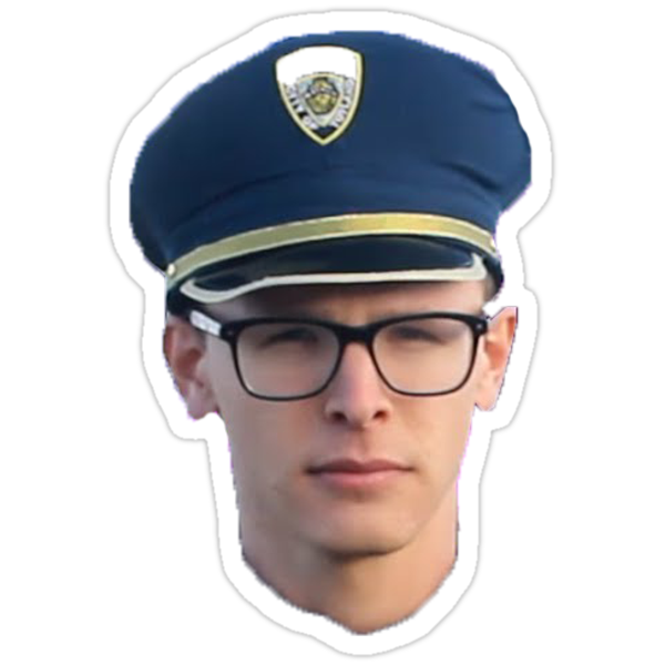 IDUBBBZ CONTENT COP Stickers by dogedady | Redbubble