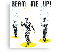 Star Trek - Beam me up! Canvas Print