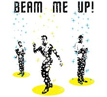 Star Trek - Beam me up! Photographic Print