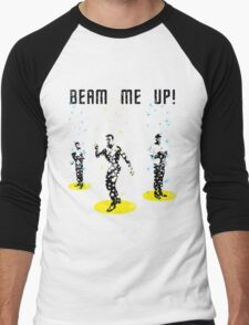 Star Trek - Beam me up! Men's Baseball ¾ T-Shirt