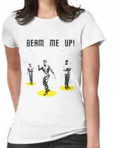 Star Trek - Beam me up! Womens Fitted T-Shirt