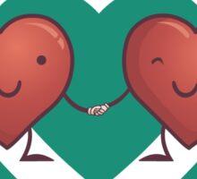 HEART 2 HEART Sticker