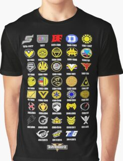 Super Sentai 38th Anniversary Graphic T-Shirt