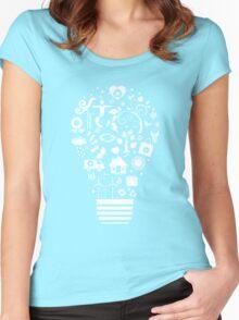 Green Light Women's Fitted Scoop T-Shirt