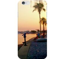 Paphos Harbour at Sunset iPhone Case/Skin