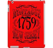 Montague New Jersey iPad Case/Skin
