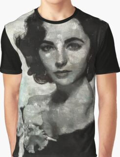 Elizabeth Taylor by Mary Bassett Graphic T-Shirt
