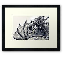 Hungarian Horntail Dragon Framed Print