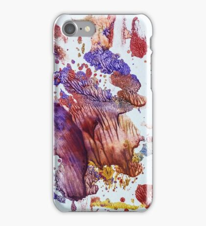 Abstract colour composition iPhone Case/Skin