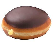 Boston Cream Donut by emwonton
