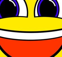 Awesome Thumbs Up Happy Smile Sticker Smiley Face Sticker