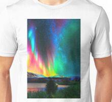 rainbow Aurora Borealis art2 Unisex T-Shirt