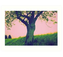 Energy Tree Art Print