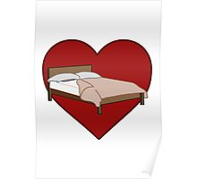 Bed Love Poster