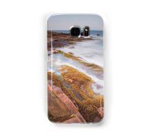 Arran rock shelves Samsung Galaxy Case/Skin