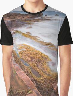 Arran rock shelves Graphic T-Shirt