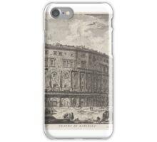IOVANNI BATTISTA PIRANESI, , THE THEATER OF MARCELLUS iPhone Case/Skin