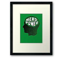 Nerd Power Framed Print