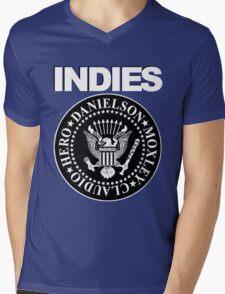 Indies Mens V-Neck T-Shirt