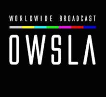 Owsla 2016 Logo ''Worldwide Broadcast'' Sticker