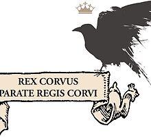 Rex Corvus  by LITTLESERAPHINE