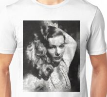 Veronica Lake by Mary Bassett Unisex T-Shirt