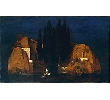 Island of the Dead, Arnold Böcklin (Swiss, Basel San Domenico, Italy) Photographic Print