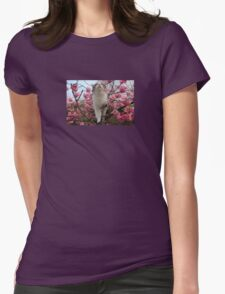 Cat and cherry blossoms T-Shirt