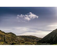 The Loneliest Cloud Photographic Print