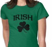 Cute Irish Shamrock St Patrick's Day Womens Fitted T-Shirt