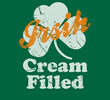 Cute Irish Cream Filled St Patrick's Day Womens Fitted T-Shirt