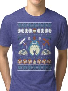Totoro Sweater Tri-blend T-Shirt