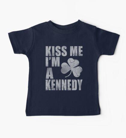 Irish Kiss Me I'm A Kennedy Baby Tee