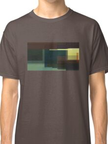 Hopper: Nighthawks (computer-generated abstract version) Classic T-Shirt