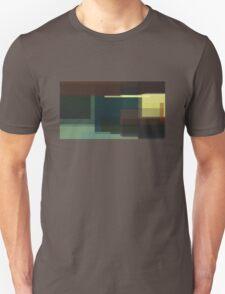Hopper: Nighthawks (computer-generated abstract version) Unisex T-Shirt