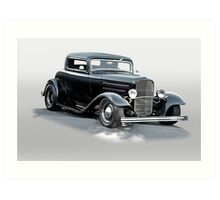 1932 Ford 'Deuce' Coupe Art Print