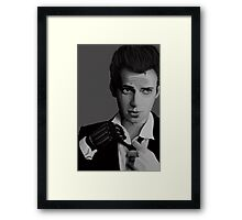 Dapper Framed Print