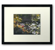 Pond 3 Framed Print