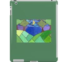 Trees and Hills at Night iPad Case/Skin