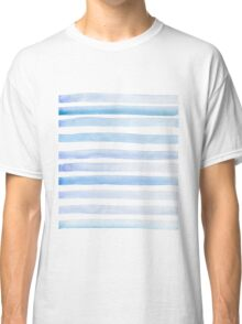 Sea Waves in Watercolor Classic T-Shirt