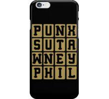 Punxsutawney Phil iPhone Case/Skin